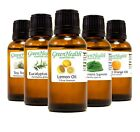 GreenHealth Essential Oils - 30 mL (1oz) - Pure & All Natural - Aromatherapy