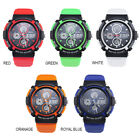 New Mens Boys Fashion Casual Sports Watch LED Outdoor Shockproof Dual Movements