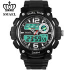 Mens Watch Digital Cycling Electronic Sports Outdoor Quartz Waterproof Watches