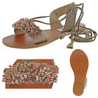 Steve Madden Hope Women's Embellished Wraparound Sandals Boho