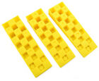 WEDGIT® YELLOW PLASTIC INTERLOCKING RIBBED WEDGES LEVELLING CLADDING DECKING