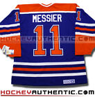 MARK MESSIER EDMONTON OILERS CCM VINTAGE AWAY JERSEY BLUE NHL HOCKEY