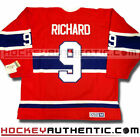 MAURICE RICHARD MONTREAL CANADIENS CCM VINTAGE AWAY JERSEY RED NHL HOCKEY