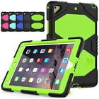 For Ipad Mini /air2/pro 9.7/new Ipad Shockproof Hybrid Rubber Stand Case Cover