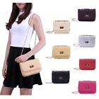 Women's Small Crossbody Handbag Purse Bag with Chain Shoulder Strap