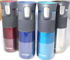 Contigo Steel Hot Cold Insulated Thermal Thermos Mug Autoseal Flask 473ml NEW