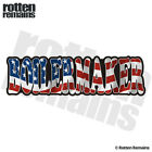 Boilermaker Decal American Flag USA United States Gloss Sticker HGV