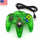 USB Wired Game Controller Gamepad Joypad Joystick For Nintendo 64 N64 5 Colors