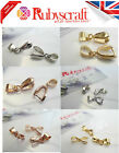 High Quality Pendant bails Rhodium Rose gold plated Pinch Clamps - Choose size
