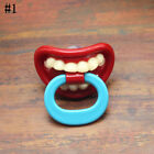 Baby Funny Kids Pacifier Nipples Teeth Silicone Orthodontic Mustache Dummy Beard