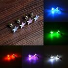 Unisex Earrings Pentagram Studs Earrings Accessories LED Glowing Studs Earrings