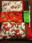 Horse Themed Travel Pillowcase, Snowman, the Grinch, Christmas Horses
