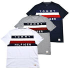 Tommy Hilfiger T-shirt Mens Graphic Tee Large Flag Logo Crew Neck Short Sleeve