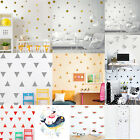 Crafty Mural Removable Wall Stickers Decals Kids Baby Nursery Room Home Decoration