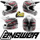 Answer Racing Helmet AR-5 2018 White Black (With MIPS)