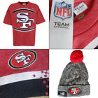 San Francisco 49ers Officially Licenced NFL T-shirt + Free 49ers Knit Hat