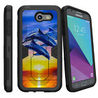 For Samsung Galaxy J3 Emerge | J3 Luna Pro (2017) Case Holster Clip Kickstand