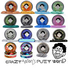 """Crazy Aaron's Thinking Putty Large 4"""" Tins 3.2oz (You Pick Color & Type) Therapy"""