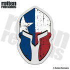 Texas Flag Spartan Helmet Decal Cowboy Rodeo TX Lone Star Gloss Sticker HVG