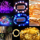 20/40/50/200 LED Battery Powered Micro Rice Wire Copper Fairy String Light Party