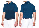 (997) 2017 Mens Under Armour Coolswitch Upright Strp Golf Polo $85-NVY