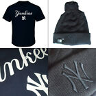 New York Yankees Series Sweep Officially Licenced MLB T-shirt+Jacquard Knit Hat