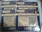 Tattered Lace Embossing Folders (4 piece sets) - VARIOUS CHRISTMAS **FREE POST*