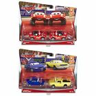 Disney Pixar Cars Race Fans Series Metal Die-Cast Toy Vehicles (2 Pack)