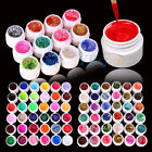 72 Pots Mix Color Solid Glitter UV Builder Gel Acrylic Set For Nail Art Tips