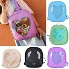 Mini Cute Obvious Heart Shaped Backpack Girls Backpack Peach Travel Bags LD