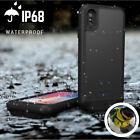 Rechargeable Waterproof Battery Power Charging Backup Case Cover For iPhone XR X
