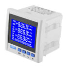 Multifunction 3-Phase High Accuracy Voltage Power Meter V A Hz kWh RS485 DH