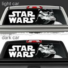 Stormtrooper Star Wars Perforated Vinyl Decal Rear Window Car N744 FRST $76.32 CAD