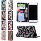 Useful Stand Case Cover For IPhone 7 Plus PU Wallet Flower Flip Leather O0117