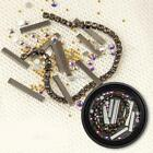 Shiny Glitter Manicure Steel Nail Sequins Water Decal SH 01