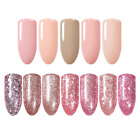 5ml Rose Gold Glitter Shining Soak Off UV Gel Polish Nail Art Gel Born Pretty