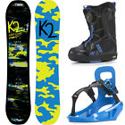 K2 Boys Grom Package Children's Snowboard Set Complete with Binding and Boots