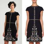 Ted Baker London JEORJIA Hampton Court embroidered shift dress Cocktail black