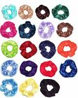 Hair Scrunchie Panne Velvet Fabric Scrunchies by Sherry
