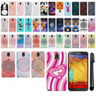 For Samsung Galaxy Note 3 III AT&T N9005 HARD Protector Back Case Cover + PEN