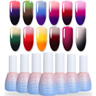 10ml Thermal 3 Colors Gel Temperature Color Changing Nail Soak Off UV Gel Polish