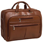 McKlein USA R Series Rockford Leather Laptop Case Non-Wheeled Business Case NEW