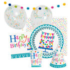 CONFETTI CAKE (Party Tableware, Banners, Balloons & Decorations) (1C)