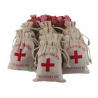 10X Funny Hangover Kit Cotton Bags Wedding Favors Gifts Guests Party Decor H
