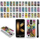 For LG K20 Plus TP260 MP260 K20 V VS501 Studded Bling HYBRID Case Cover + Pen