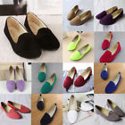 Womens Lady Ballet Flats Shoes Casual Comfy Slip On Boat Loafers Work Shoes
