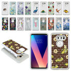 "For LG V30 6"" LG V30+ Plus H930 VS996 H931 Studded Bling HYBRID Case Cover + Pen"