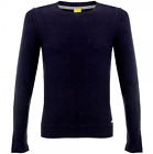 Boss-Hugo Boss Men's Medium Blue Kietmar 50291432 Slik Blend Crew-Neck Sweater *