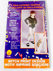 Witch Print Halloween  Tights Girls Halloween Costume Accessory S 4-6 NIP