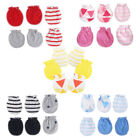 Внешний вид - 3Pair Baby Anti Scratching Gloves Newborn Protection Face Cotton Scratch Mittens